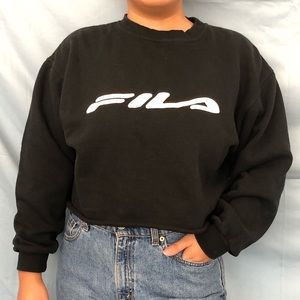 Vintage FILA Crop Sweatshirt